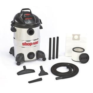 Shop-Vac&amp;#174 12 Gallon 6.0 Peak HP Stainless Steel Wet / Dry Vacuum at Sears.com