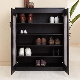 Hokku Designs Rockwell Multi-Purpose Storage Cabinet in Black at Sears.com