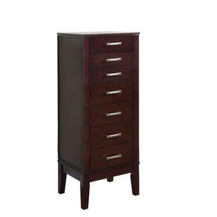 POWELL Contemporary Jewelry Armoire in Dark Espresso at Sears.com