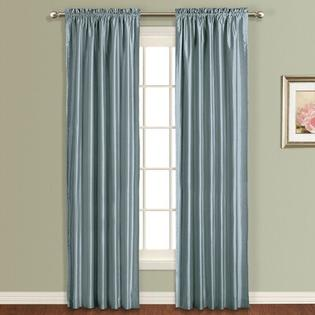 United Curtain Co. Anna Panel - Color: Blue, Size: 63&amp;#34; H x 54&amp;#34; W at Sears.com