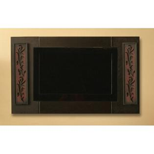 Custom House Cabinetry Arts and Crafts Decorative Panel for Television in Mocha - Width: 68&amp;#34; at Sears.com