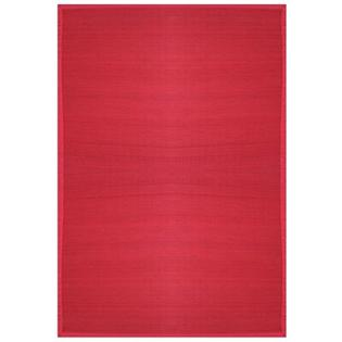 Anji Mountain Bamboo Rugs Villager Crimson Rug - Rug Size: 5&#039; x 8&#039; at Sears.com