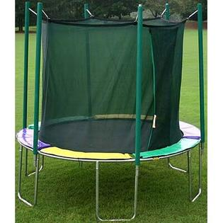 KIDWISE 12 ft. Round Trampoline with Enclosure - Pad Color: Green/Purple/Yellow at Sears.com