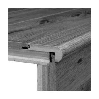 Bruce Flooring 0.31&amp;#34; x 2.75&amp;#34; White Oak Stairnose in Cherry at Sears.com