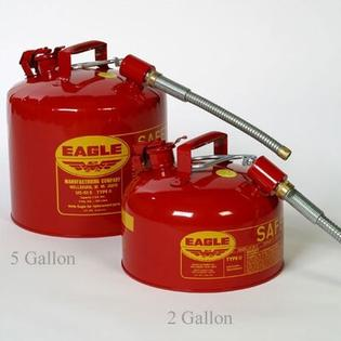 Eagle-MFG Type II - Gasoline Safety Can - Spout: 7/8&amp;#34;, Capacity: 5 Gallon at Sears.com