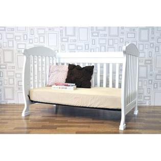 DaVinci Jacob 4-in-1 Convertible Crib with Toddler Rails in White at Sears.com