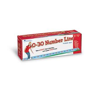 Learning Resources 0-30 Number Line Floor Mat at Sears.com