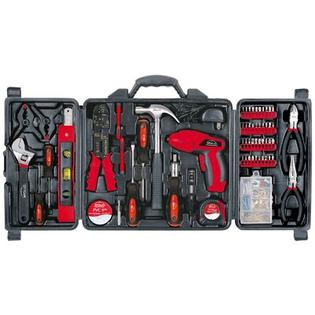 Apollo Tools 161 Piece Household Tool Kit with 4.8 Volt Screwdriver at Sears.com
