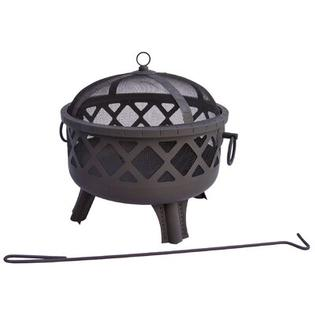 Landmann Garden Lights Sarasota Fire Pit - Color: Black at Sears.com
