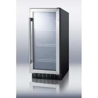 Summit Appliance 15&amp;#34; Wide Glass Door Beverage Cooler at Sears.com