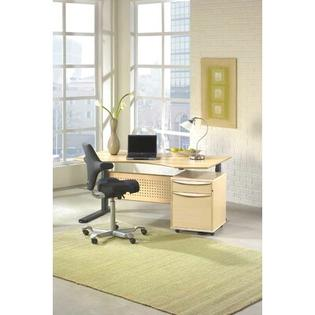 The Ergo Office Ergonomic Sit Stand Motorized Computer Desk - Finish: Real Espresso at Sears.com