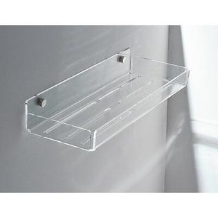 Toscanaluce by Nameeks Wall Mounted Accessory Holder - Finish: Transparent, Shelves: Two, Size: 8&amp;#34; at Sears.com