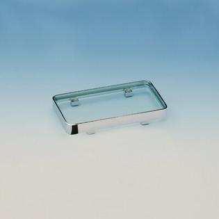 Windisch by Nameeks 5.3&amp;#34; x 2.7&amp;#34; Box Crystal Tray - Finish: Chrome at Sears.com