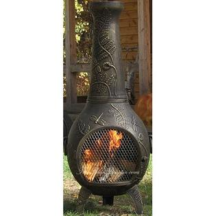 THE BLUE ROOSTER Dragonfly Chiminea - Finish: Gold Accent at Sears.com
