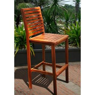 Vifah Outdoor Wood Bar Chair at Sears.com