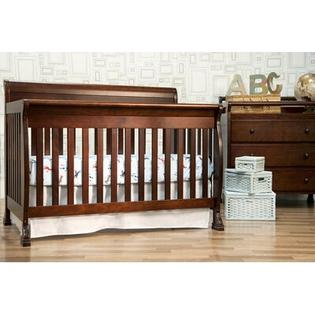 DaVinci Kalani 4 in 1 Convertible Crib with Toddler Rail in Espresso at Sears.com