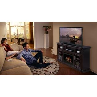 Dimplex Bailey 66&amp;#34; TV Stand with Electric Fireplace - Insert Style: Logs at Sears.com
