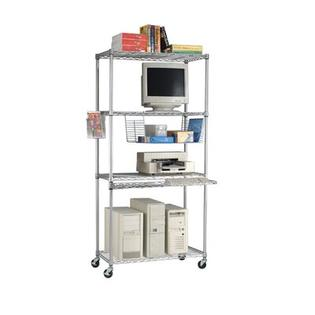 OFM LAN Station - Color: Silver, Size: 48&amp;#34; x 18&amp;#34; at Sears.com