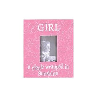 Forest Creations Girl a Giggle Wrapped in Sunshine Picture Frame - Color: Dark Chocolate at Sears.com