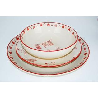 100 Essentials Barnyard 18 Piece Dinnerware Set at Sears.com