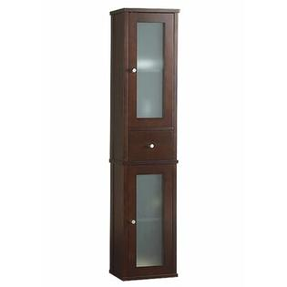 RonBow Tall Wall Mount Cabinet - Finish: Vintage Walnut at Sears.com