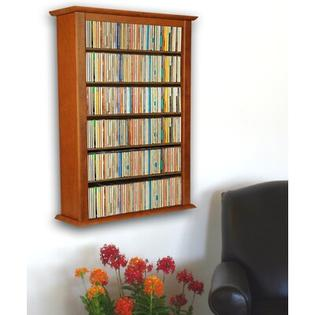 Venture Horizon VHZ Entertainment Single Wall Mounted Storage Rack - Finish: Oak at Sears.com