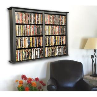 Venture Horizon VHZ Entertainment Double Wall Mounted Storage Rack - Finish: Black at Sears.com
