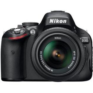 Nikon D5100 Digital SLR Camera + 18-55mm G VR DX AF-S Zoom Lens - Factory Refurbished at Sears.com
