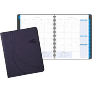 SPR Product By Day-timer - Monthly Planner Journal 2PPM 6-1/8&amp;#34;x8-3/4&amp;#34;x5/8&amp;#34; Blue at Sears.com