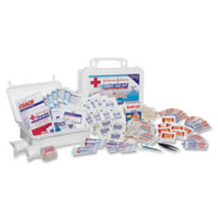 SPR Product By Johnson &amp; Johnson - Fir Aid Kit 98 Pieces For Up To 10 Plaic Case at Sears.com