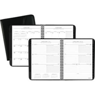 SPR Product By At-A-Glance - Weekly/Monthly Planner 13 Mths Jan-Jan 6-7/8&amp;#34;x8-3/4&amp;#34; BK at Sears.com