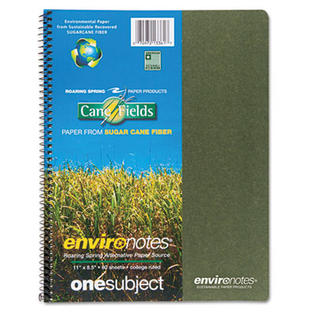 Roaring Spring Environotes Sugarcane Notebook, 8 1/2 x 11, 1 Subj, 80 Sheets, College, Assorted at Sears.com
