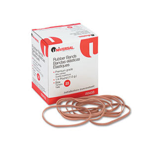 Universal Rubber Bands, Size 33, 3-1/2 x 1/8, 160 Bands/1/4lb Pack at Sears.com