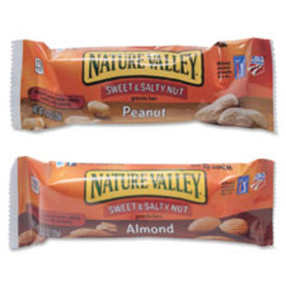 ADVANTUS CORP. Sweet and Salty Bars, 1.2oz, 16/BX, Almond at Sears.com