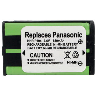 OEM Replacement Battery for Panasonic P104A / 1B Cordless Phone 850mAh 3.6V NiMH at Sears.com