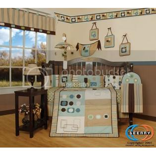 GEENNY Boutique Brand New GEENNY Baby Boy Artist 13PCS CRIB BEDDING SET at Sears.com