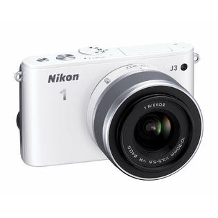 Nikon 1 J3 White 14.2-megapixel Digital Camera with 10-30mm VR Lens at Sears.com
