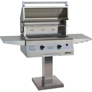 Solaire Gas Grills 27 Inch Deluxe Infravection Propane Gas Grill With One Infrared Burner On Bolt Down Post at Sears.com