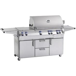 Fire Magic Echelon Diamond E790s A Series Natural Gas Grill With One Infrared Burner And Double Side Burner On Cart at Sears.com