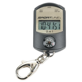 Sportline 241 Keychain Stopwatch Compass &amp; Thermometer at Sears.com