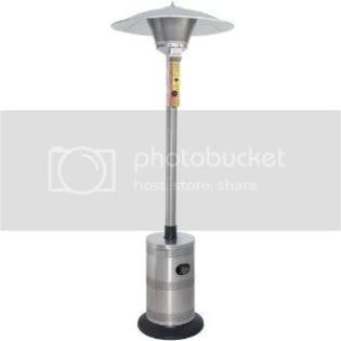 Blue Rhino Commercial Outdoor Patio Heater - Stainless Steel - Lp at Sears.com