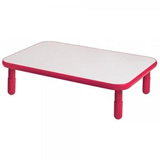 Angeles Corporation (AGC) ANGELES30X48 RECTANGULAR TABLE-Coral Red-20 at Sears.com