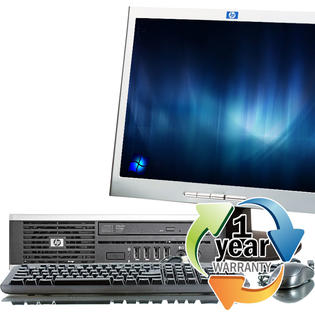 HP REFURBISHED HP 8000 Elite USF 3.0GHz 4GB 250GB DVD-ROM Win 7 Home Desktop  w 19&amp;#34; LCD at Sears.com