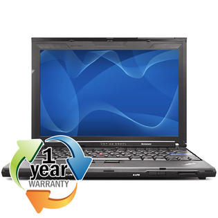 IBM Lenovo REFURBISHED IBM Lenovo Thinkpad X200 C2D 2.2GHz 4GB 160GB Win 7 Pro Thin Laptop Computer at Sears.com