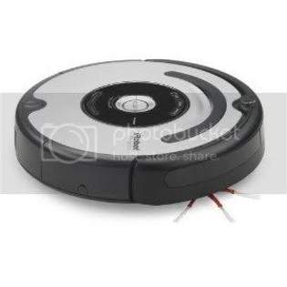 iRobot 560 Roomba Vacuuming Robot, Black and Silver at Sears.com