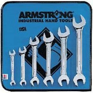 Armstrong Tools Armstrong 53-270 6 Pc Metric Full Polish Open End Wrench Set at Sears.com