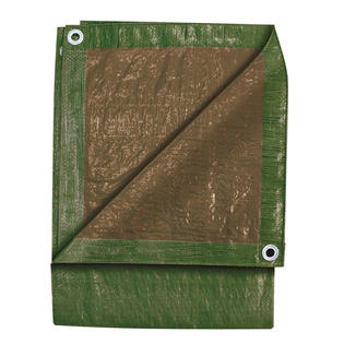 Michigan Industrial Tools Tekton 6280 4&#039; x 18&#039; Green/Brown Tarp at Sears.com