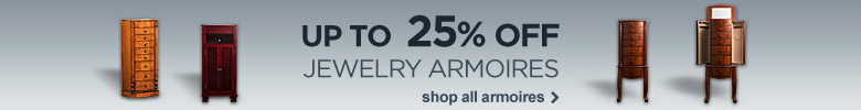 up to 25% off jewelry armories. Shop all armories