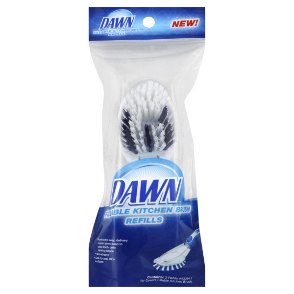 Dawn Brush Refills, Kitchen, Fillable, 2 refills at Kmart.com
