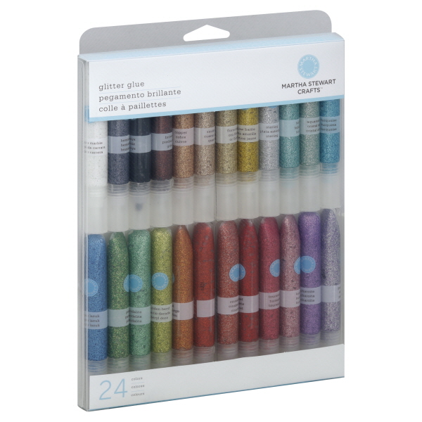 Martha Stewart Crafts Glitter Glue, 24 Colors, 1 set at Kmart.com